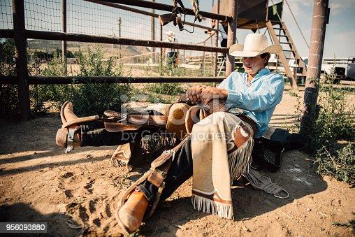 istock Rodeo Preparations 956093880