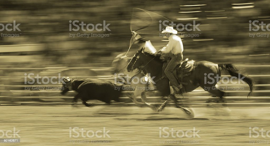 Rodeo Riders royalty-free stock photo