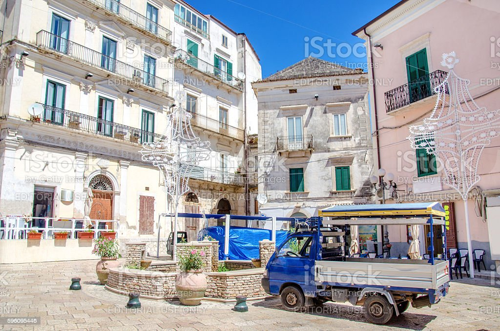 Rodi Garganico Apulia gargano italy royalty-free stock photo
