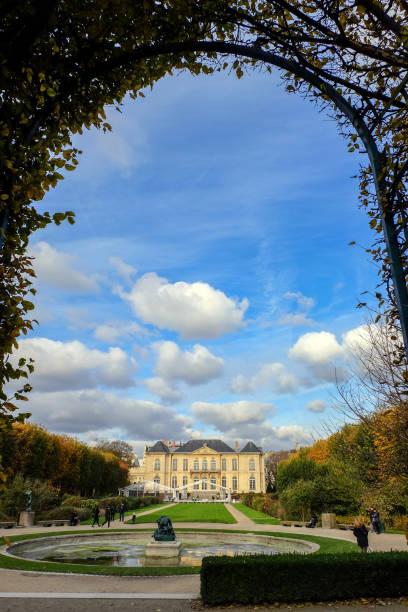 Rodin Museum in Paris. France. stock photo