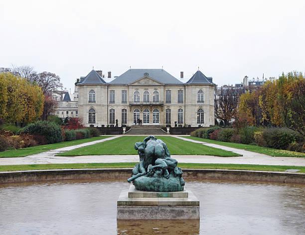 Rodin Museum Paris France stock photo