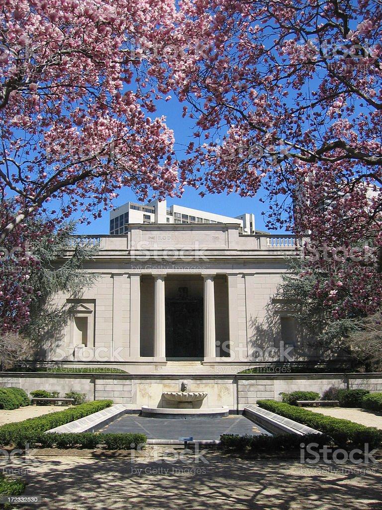Rodin Museum, Philadelphia stock photo