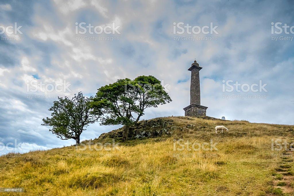 Rodney's pillar. stock photo