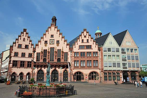Roemer Square in Frankfurt, Deutschland – Foto