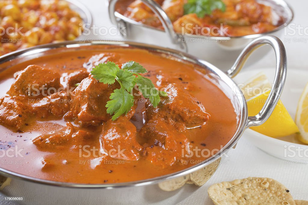 Rogan Josh Curry stock photo