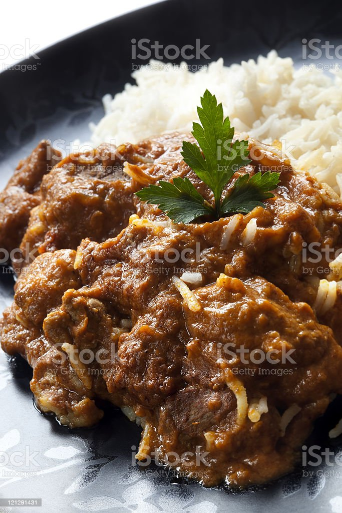 Rogan Josh stock photo