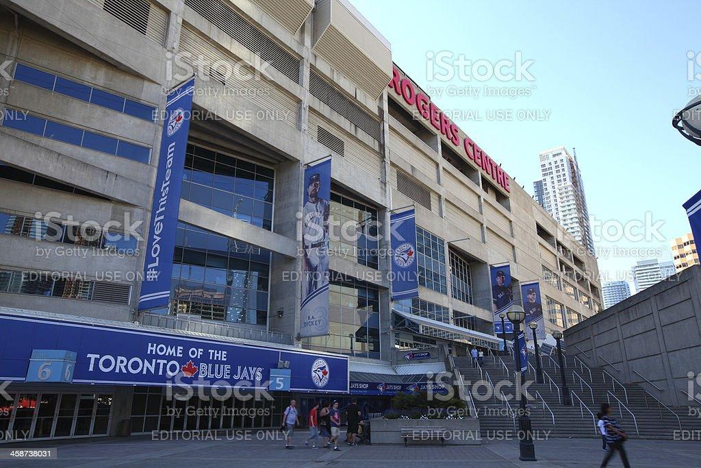 Rogers Centre facade stock photo