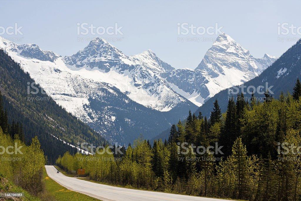 Rogers Pass stock photo
