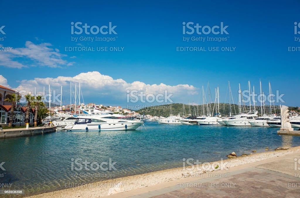 Rogoznica, Croatia, May 20 2018 - Royalty-free 2018 Stock Photo