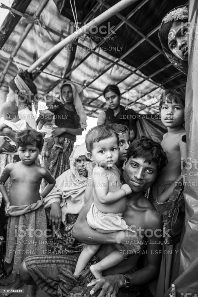 Rohingya-Muslime in Bangladesch – Foto