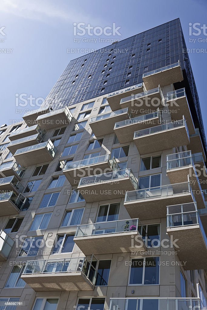 Rokade High Rise Building In Spijkenisse The Netherlands Stock Photo