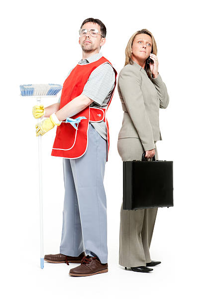 role reversal - gender stereotypes stock photos and pictures