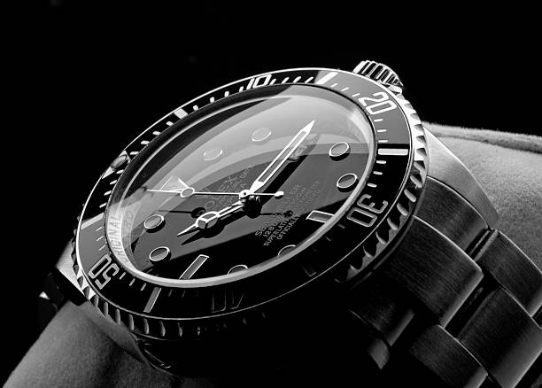 Rolex Deepsea wristwatch stock photo