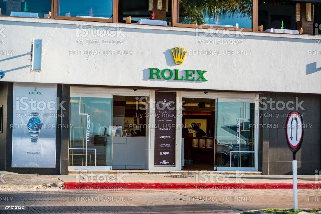 d3f4ba0ee48d98 Rolex Store In Cozumel Mexico - Fotografie stock e altre immagini di ...