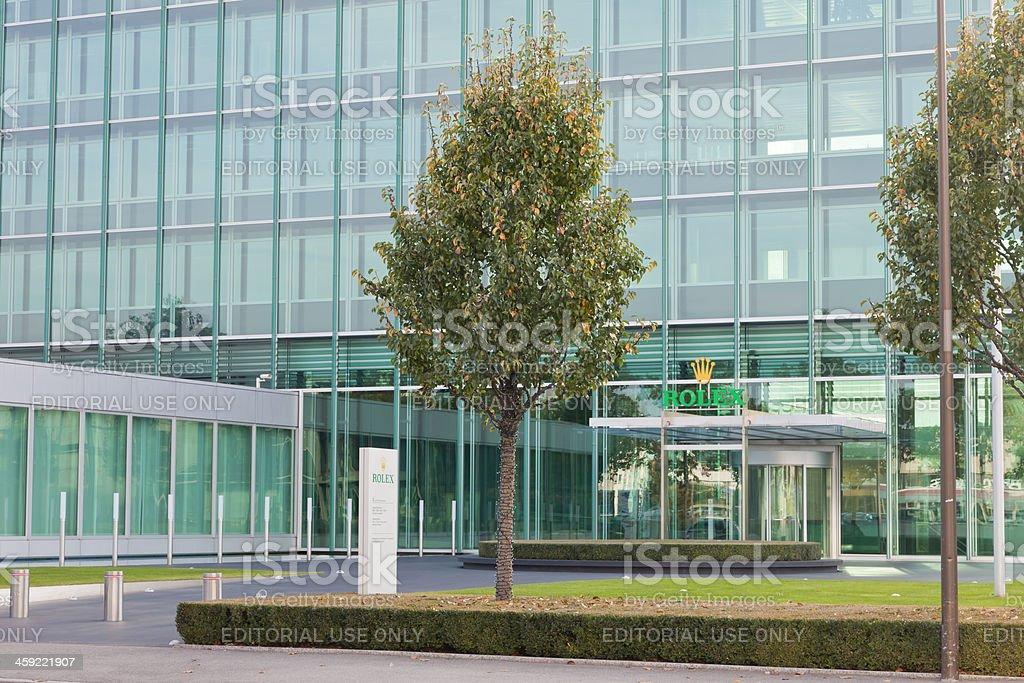 Rolex Relojes La Sede Central En Ginebra Suiza Foto de ...