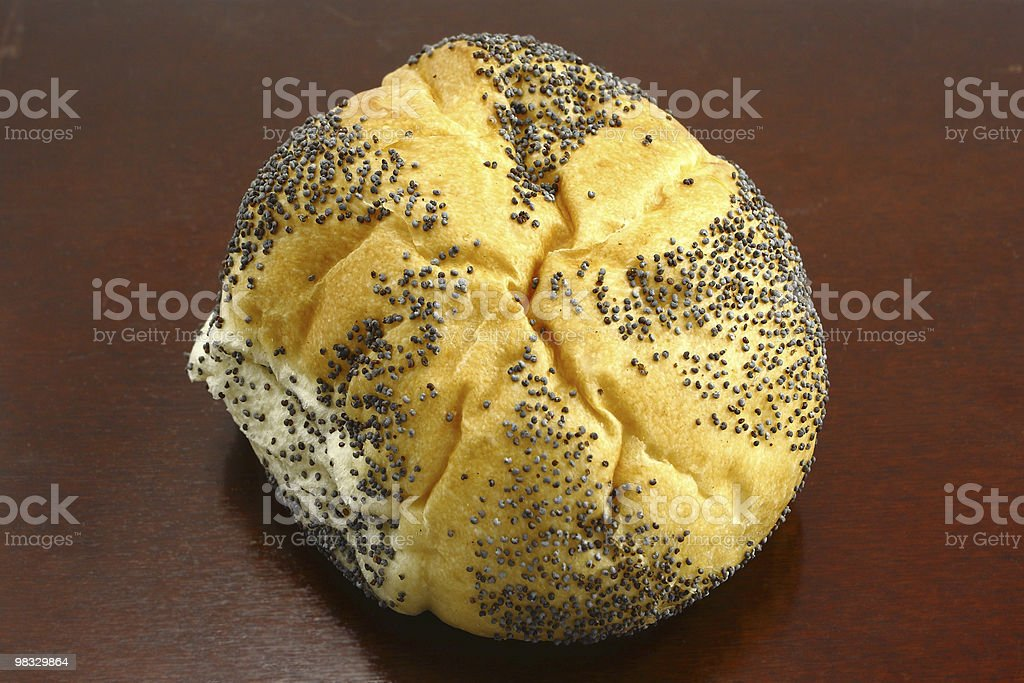 roll bread royalty-free stock photo