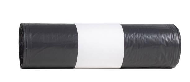 Roll von Schwarz Mülleimer Taschen – Foto