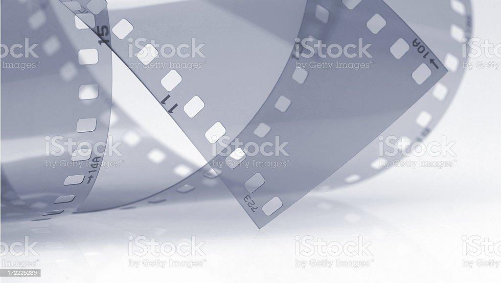 Roll of film shot in studio stock photo