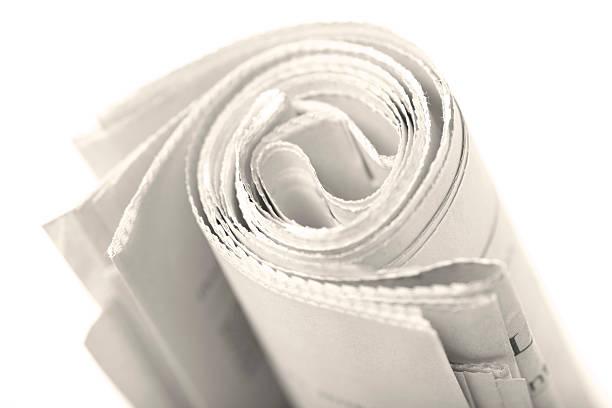 Roll der Tageszeitung. – Foto