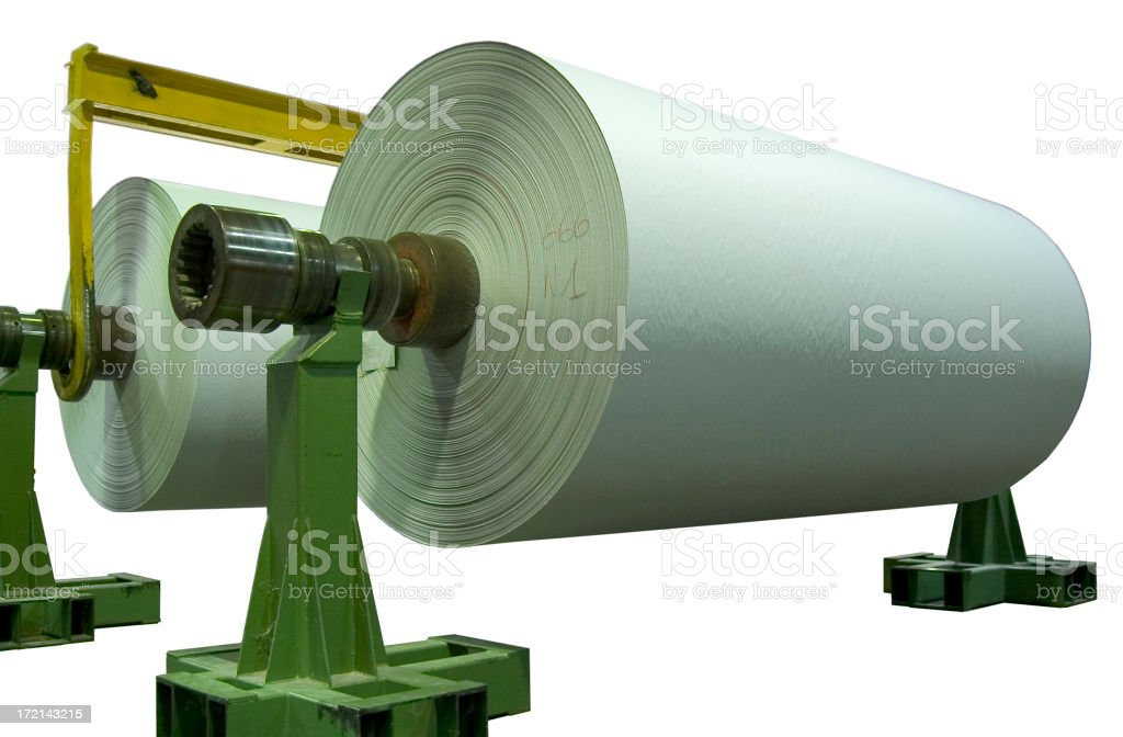 Roll of paper III royalty-free stock photo