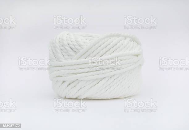 Roll of white yarn thread on white background picture id838087172?b=1&k=6&m=838087172&s=612x612&h=o3z1xqvomeszeh8sxnqzzch8o9ygx0jlyntve1kg8ai=