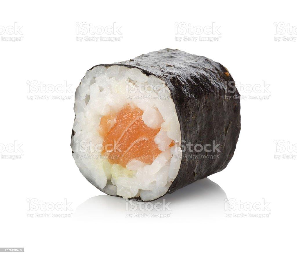 Roll Salmon stock photo