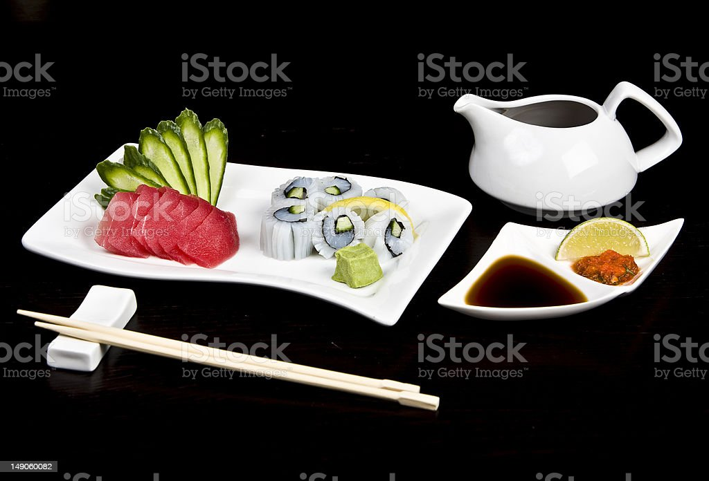 Roll Sushi royalty-free stock photo