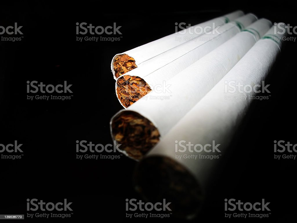 Rolled Death royalty-free stock photo