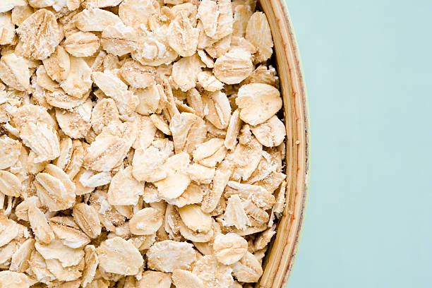 Rolled oats  oatmeal stock pictures, royalty-free photos & images