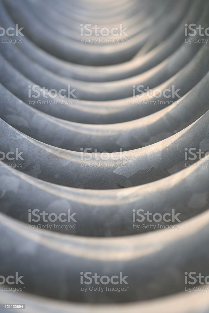 Rolled Tube Abstract stock photo