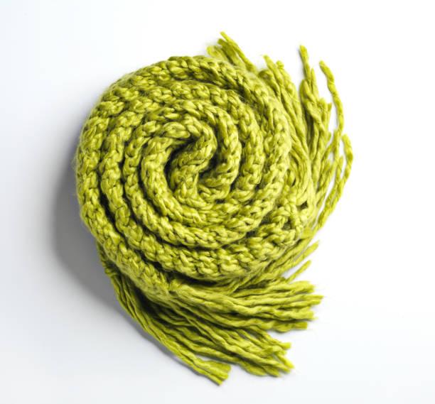 卷起的綠色毯子 - 針織品 個照片及圖片檔