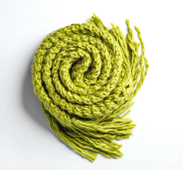 A grüne Decke aufgerollt – Foto