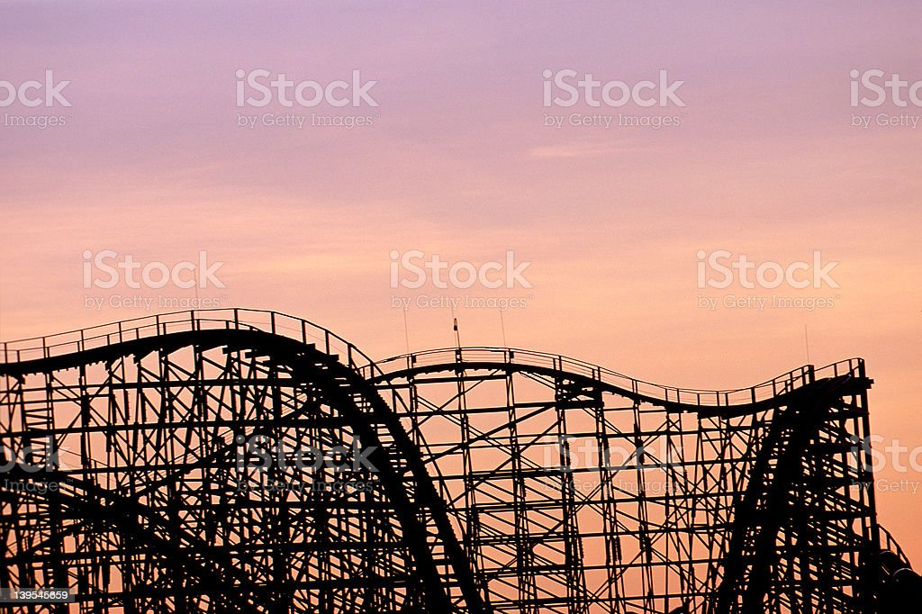 Roller Coaster 2 royalty-free stock photo