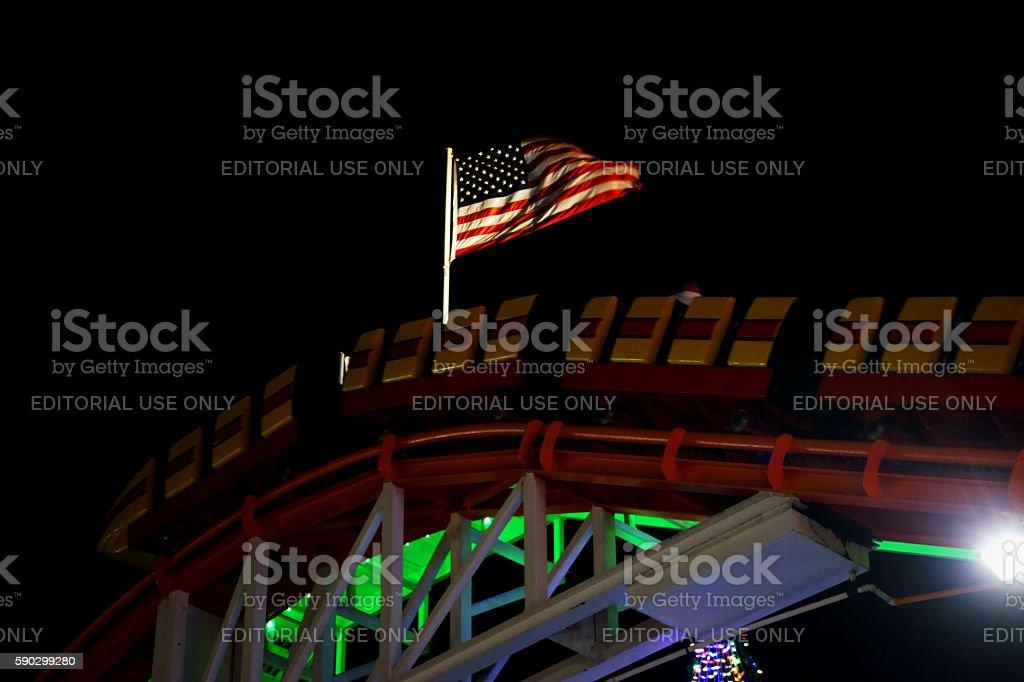Roller coaster Стоковые фото Стоковая фотография