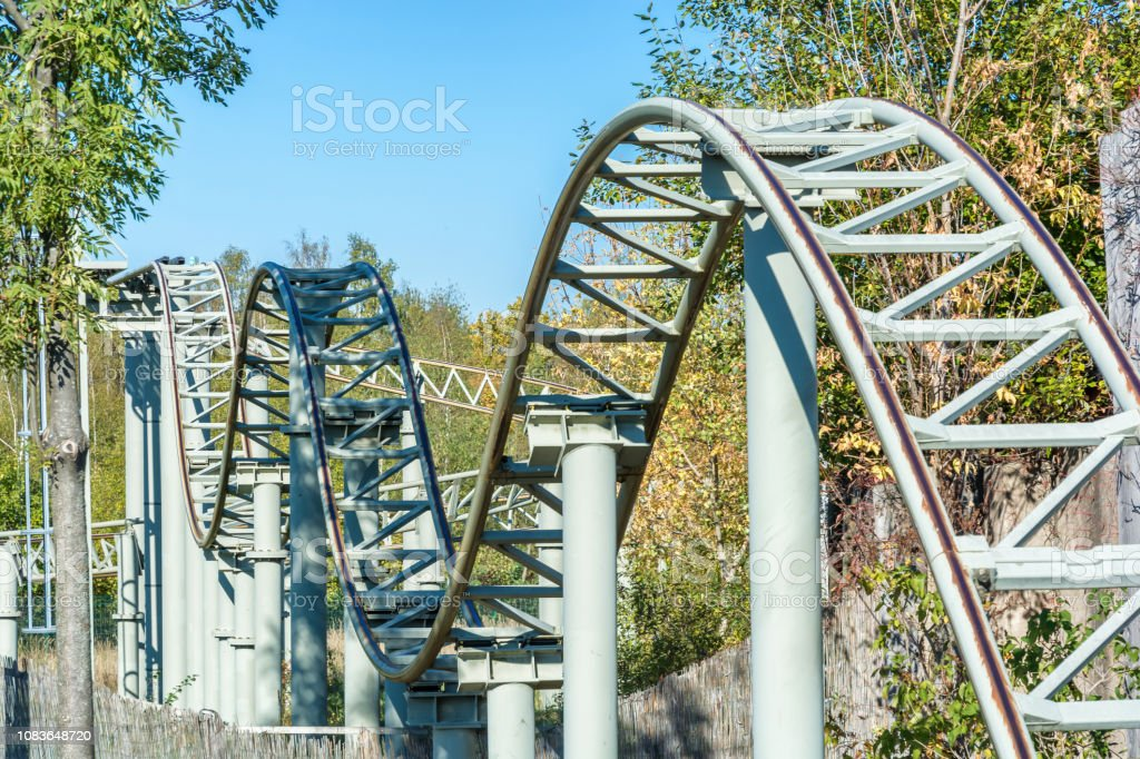 Roller Coaster Ride Of Life With Ups And Downs Stock Photo Download Image Now Istock