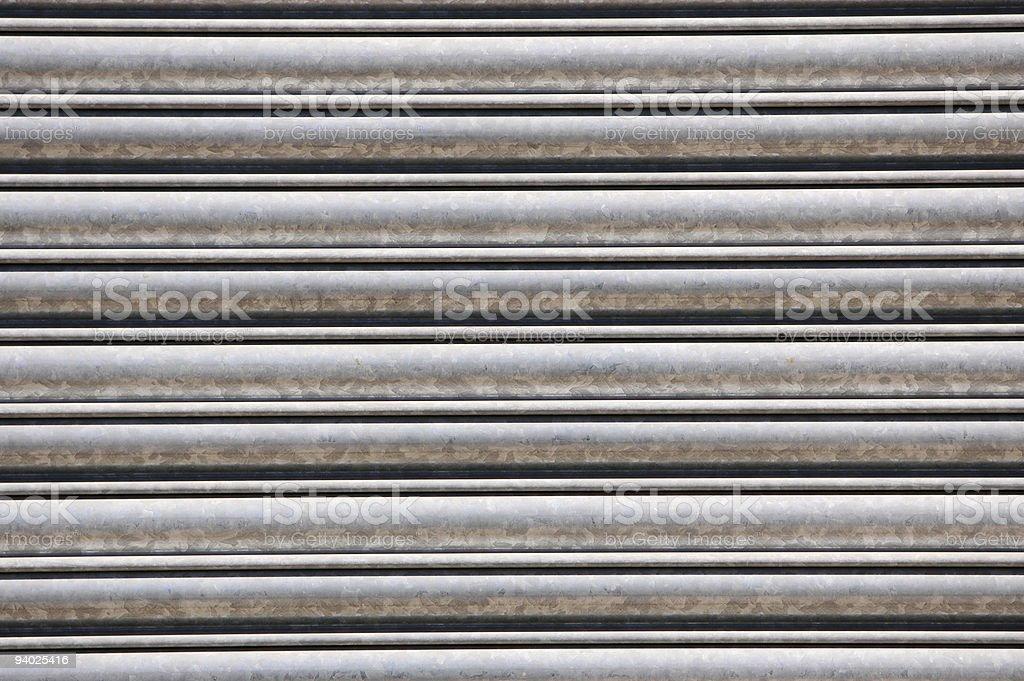 Roller shutter royalty-free stock photo