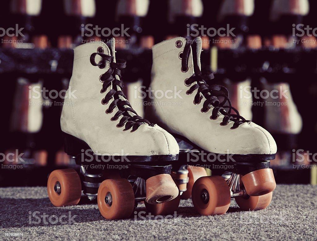 Roller Skates stock photo