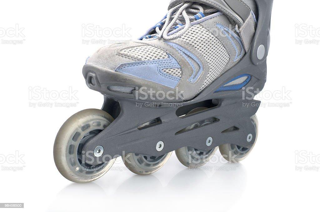 Roller skates royalty-free stock photo