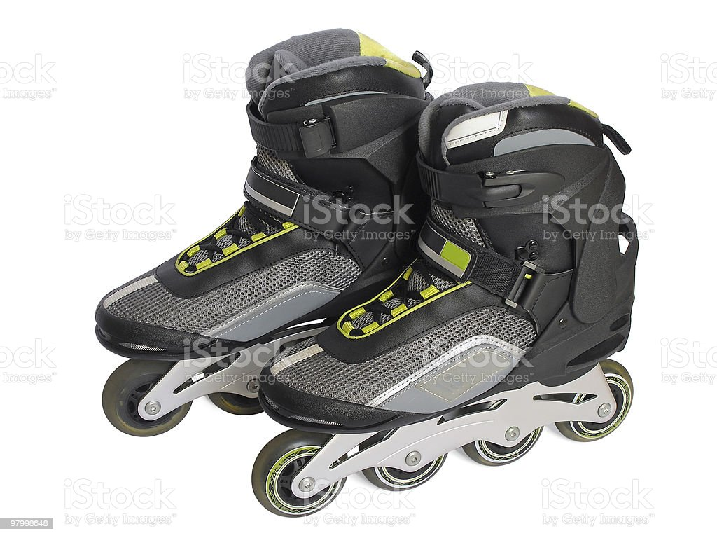 rollerblade royalty-free stock photo
