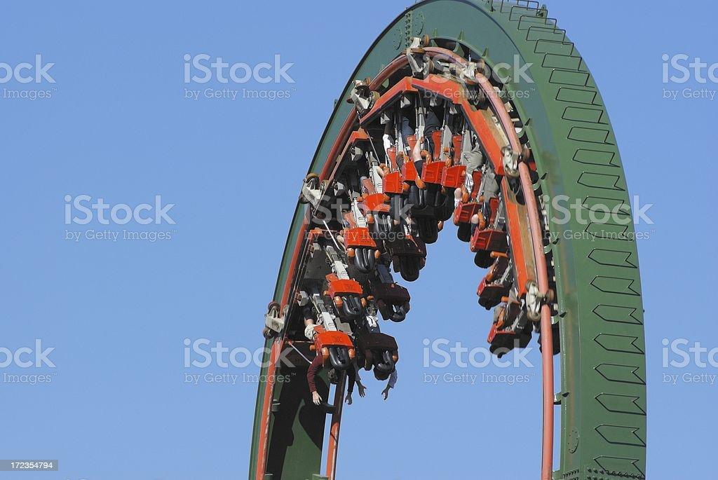 Rollercoaster - Loop royalty-free stock photo