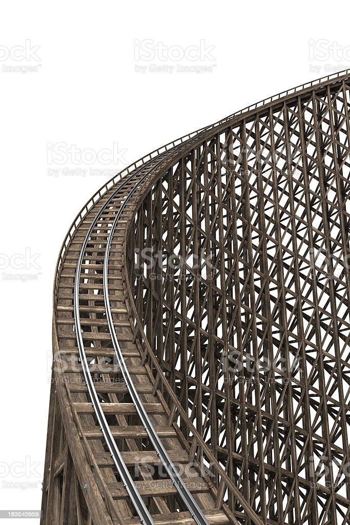 Achterbahn - Lizenzfrei Achterbahn Stock-Foto