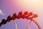 fun, loop, park, rollercoaster, fast,