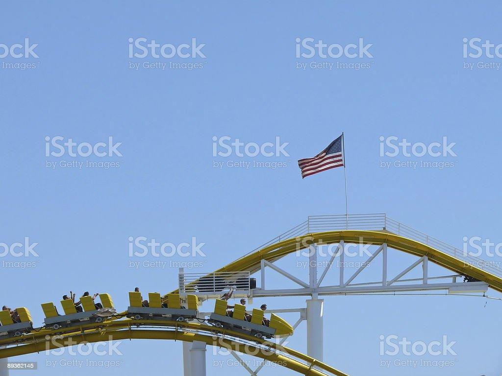 rollercoaster royalty free stockfoto