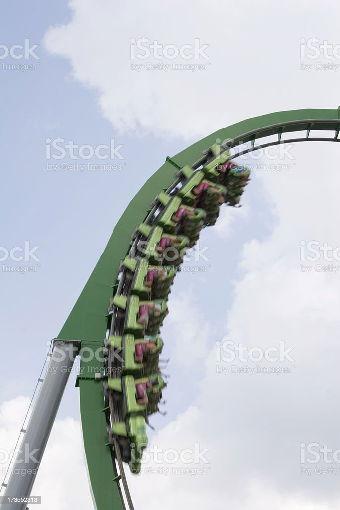 Rollercoaster_5 royalty-free stock photo
