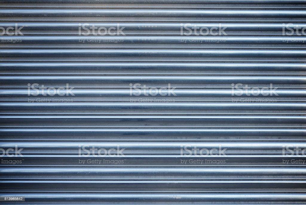 metal door texture. Rolling Aluminum Garage Door Stock Photo Metal Texture