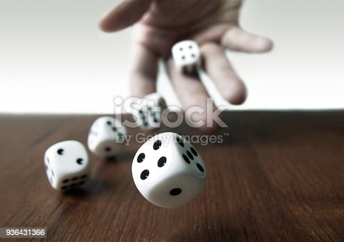 Rolling Dices & Hand