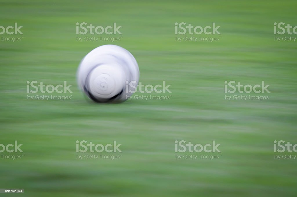 rolling football stock photo