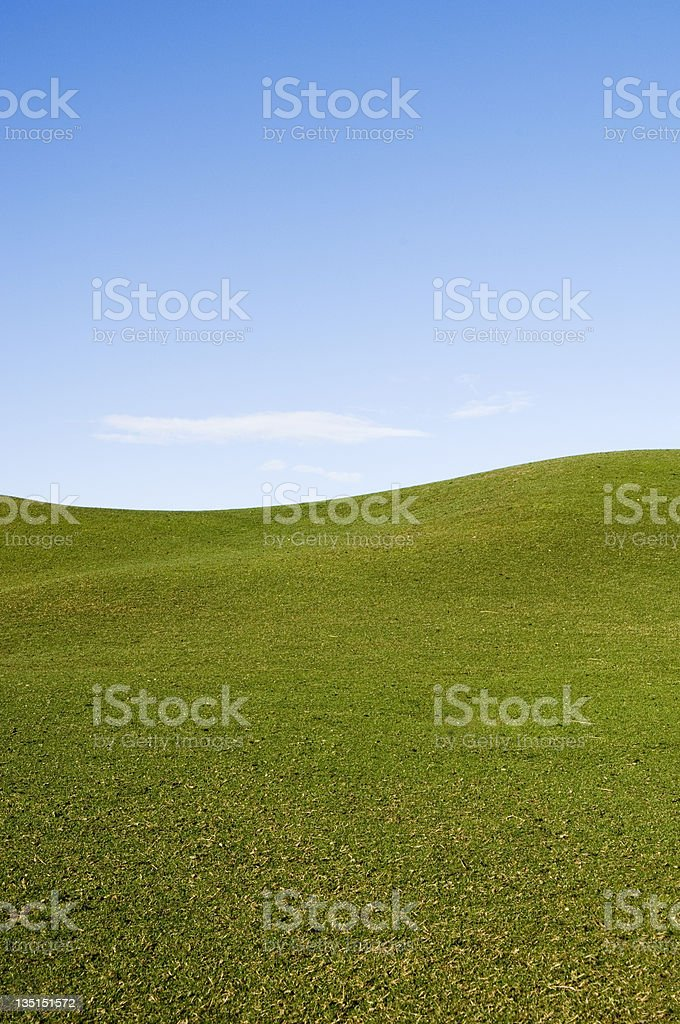 Rolling hill royalty-free stock photo