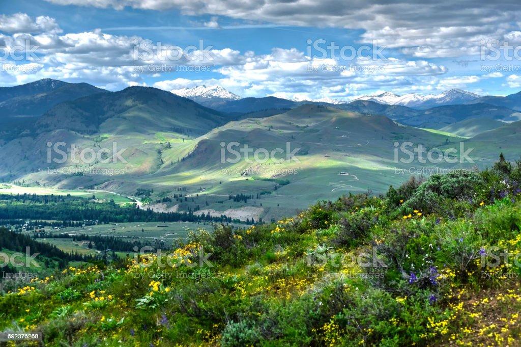 Sanften Hügeln aus Patterson Berg. – Foto