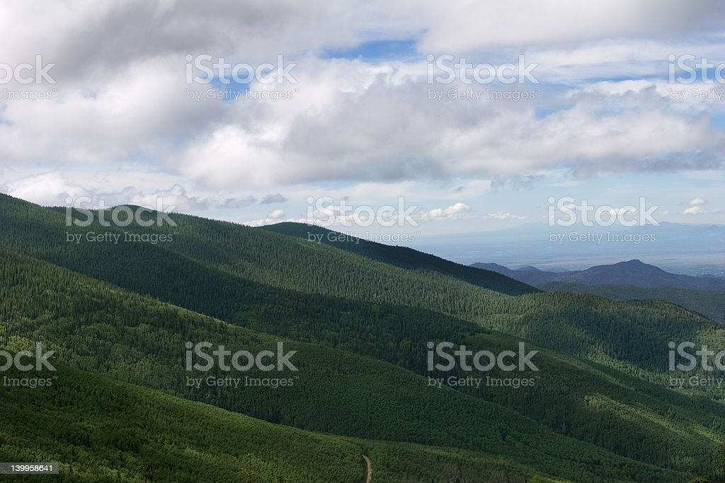 rolling hills stock photo